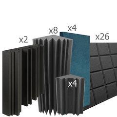 акустический поролон набор для помещения  20 м2 ИДЕАЛ