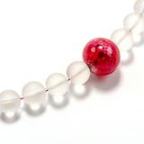 Ожерелье Satinato цвет Fuxia