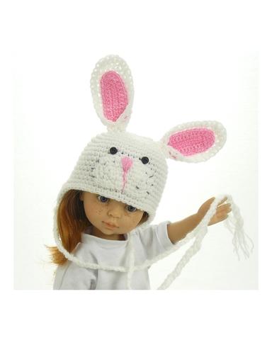 Шапка-зверюшка - . Одежда для кукол, пупсов и мягких игрушек.