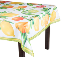 Скатерть 140x220 Blonder Home Citrus цветная