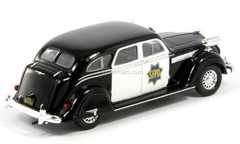 Chrysler Airflow CRS 1936 USA 1:43 DeAgostini World's Police Car #42