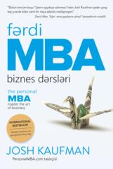 Fərdi MBA.Biznes dərsləri
