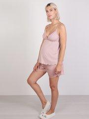 Евромама. Пижама майка и шорты вискоза/шелк, ем 1429 сухая роза, размер 52