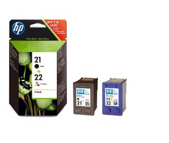 Комплект картриджей HP 21/22 (SD367AE)