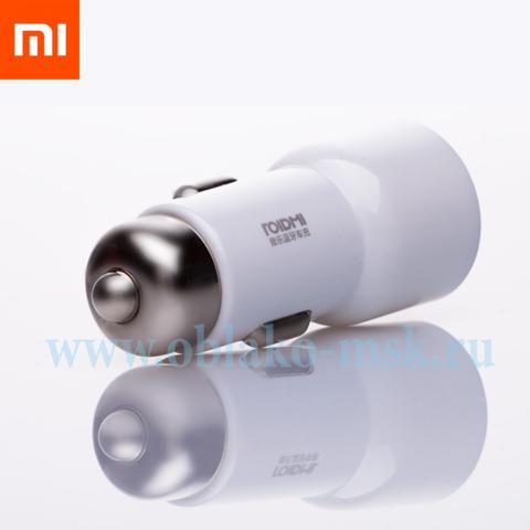 Автомобильная зарядка Xiaomi Roidmi 3S 2USB 3.4A White BFQ04RM