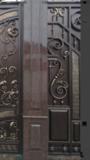 Элементы входных групп Забор