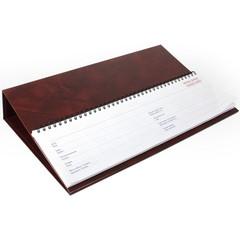 Планинг недатированный на подставке Balacron коричневый