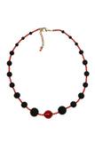 Ожерелье Монте Амиата с красной бусиной