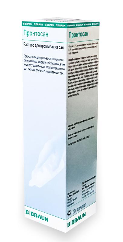 Пронтосан (Prontosan) раствор для промывания ран 350 мл