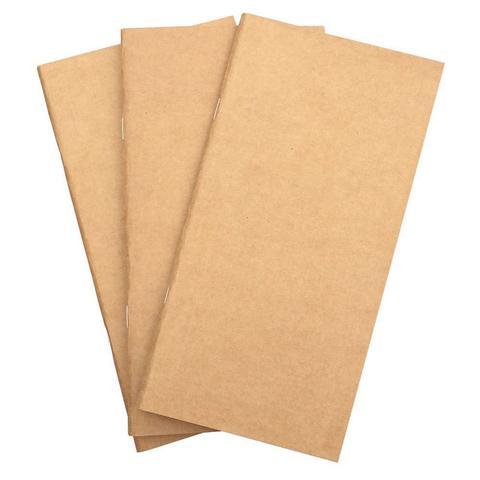 Внутренний блок для блокнотов Traveler's Notebook Insert -белые страницы