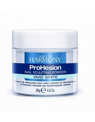 HARMONY ProHesion Vivid White Powder - ярко-белая акриловая пудра, 28 г