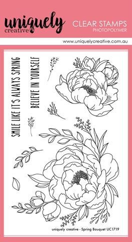 Силиконовые штампы Uniquely Creative - Spring Bouquet
