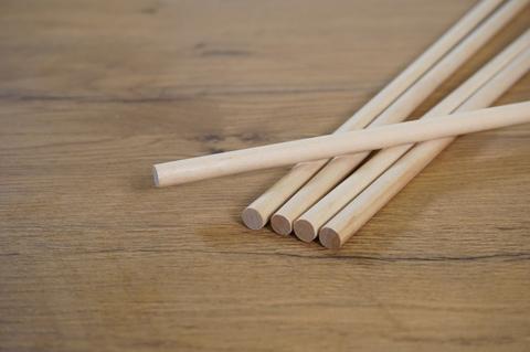 Палочка деревянная для укрепления торта (30см) 1шт.