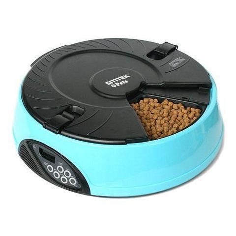 Автокормушка SITITEK Pets Maxi для кошек и собак (6 кормлений)