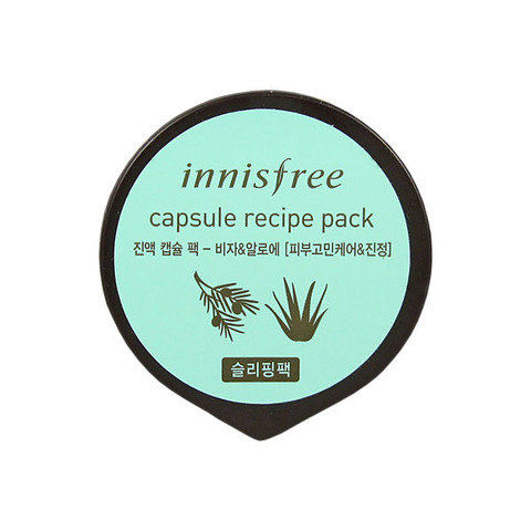 Маска для лица Innisfree Capsule Recipe Pack Bamboo Bija & Aloe