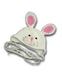 Шапка-зверюшка - Кролик. Одежда для кукол, пупсов и мягких игрушек.