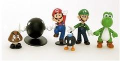Супер Марио фигурки мини набор 1