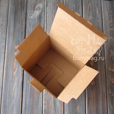 Коробка мгк С ЗАМОЧКОМ (125*115*120мм)