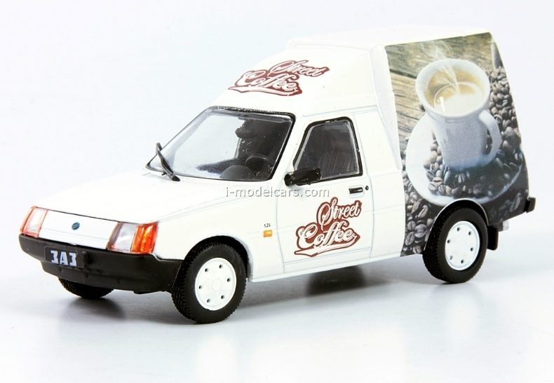 ZAZ-110550 Tavria Coffee Car 1:43 DeAgostini Service Vehicle #66
