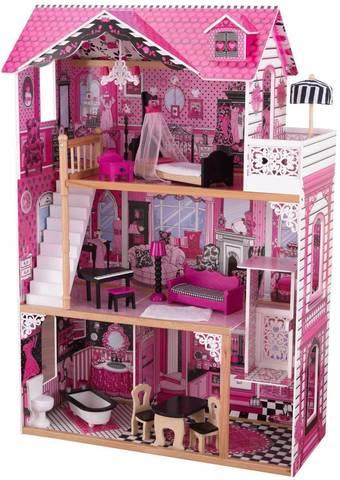 KidKraft Амелия (в подарочной упаковке) - кукольный домик с мебелью 65909_KE
