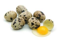 Яйца перепелиные 10шт