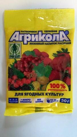 Удобрение Агрикола для ягодных культур