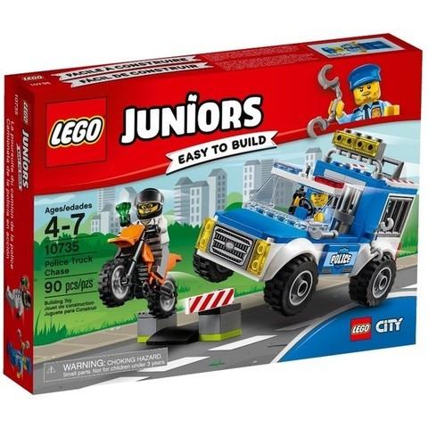 LEGO Juniors: Погоня на полицейском грузовике 10735 — Police Truck Chase