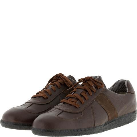 556396 Brown полуботинки мужские. КупиРазмер — обувь больших размеров марки Делфино