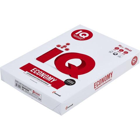 Бумага для ОфТех IQ ECONOMY (А3,80г,146%CIE) пачка 500л.