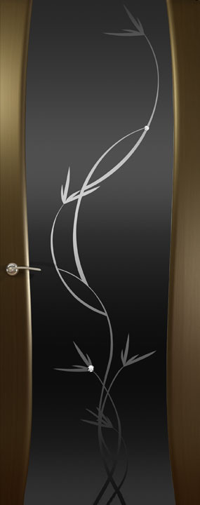 Буревестник-2, Тон, Растение , Венге, Дверное полотно, ОКЕАН