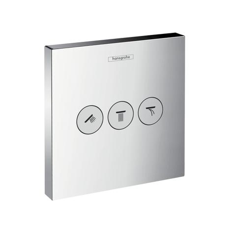 Запорно-переключающее устройство на 3 потребителя Hansgrohe 15764000 ShowerSelect