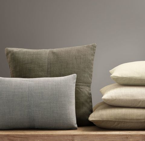 Custom Perennials® Classic Linen Weave 4-Square Pillow Cover