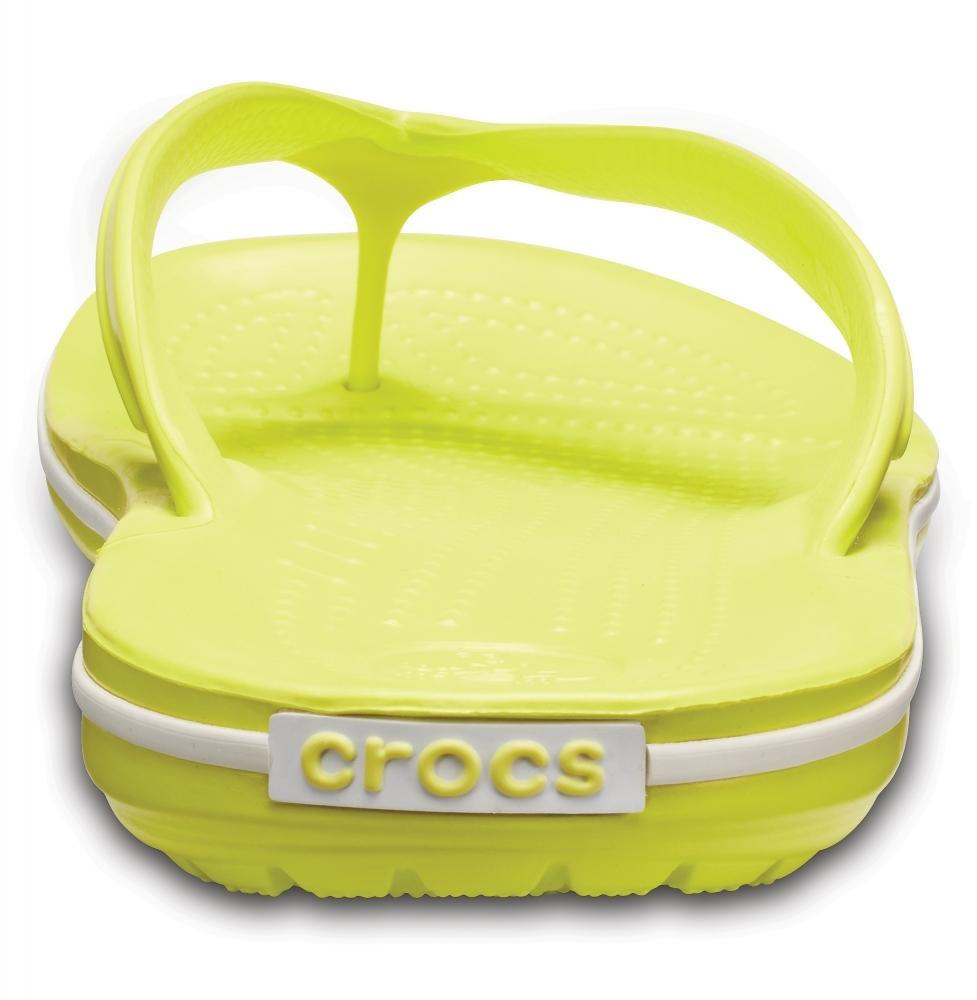 вьетнамки Crocs Крокбенд Флип Желтые
