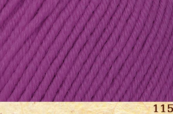 Пряжа Fibra Natura Dona 15 лиловый