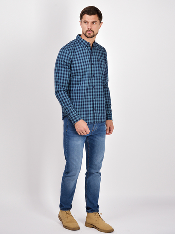 Рубашки д/р муж.  M922-05B-61CS