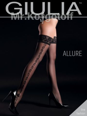 Чулки Giulia Allure 01