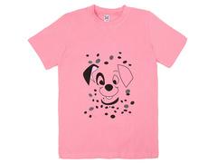 18059-4 футболка для девочек, розовая