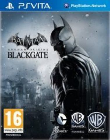 Sony PS Vita Batman: Arkham Origins Blackgate (русские субтитры)