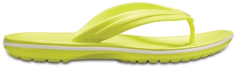 Обувь для взрослых CROCS Crocband™ Флип Теннис Болл Грин/Вайт