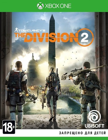 Microsoft Xbox One Tom Clancy's The Division 2 (русская версия)