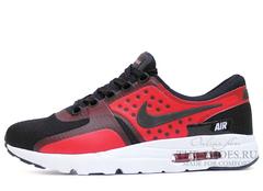 Кроссовки Мужские Nike Air Max Zero Red Black
