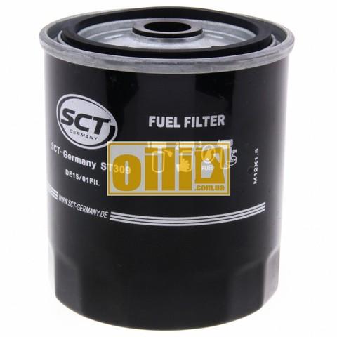 Фильтр топливный SCT ST309 (Daewoo, Mercedes-Benz, Ssang Yong)