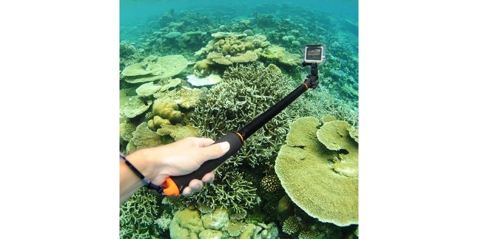Секция-крепление камеры GoPro SP Section Static Head под водой