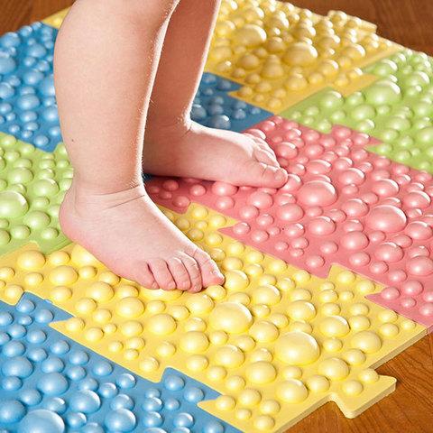 Детский массажный орто коврик, 8 модулей