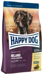 Корм для собак с проблемами кожи и шерсти Happy Dog Supreme Sensible - Irland с лососем и кроликом