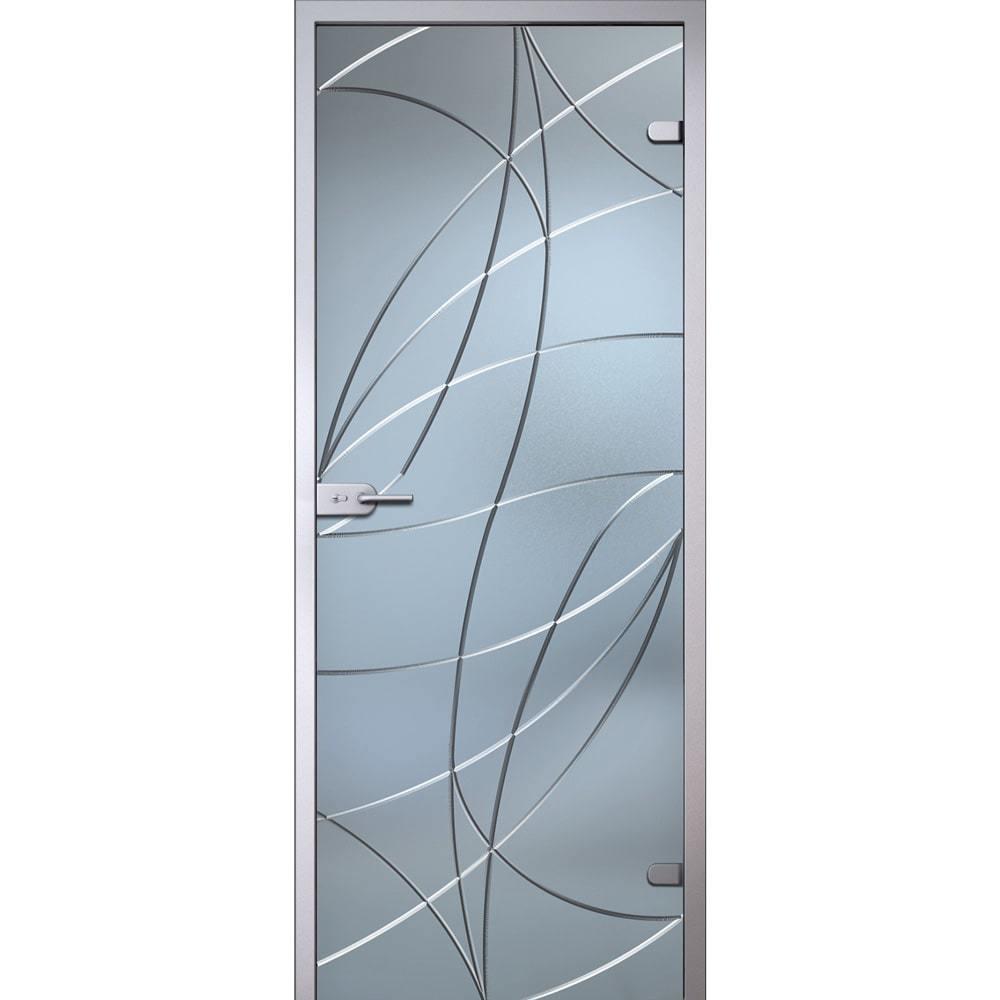 Стеклянные межкомнатные двери Аврора стекло беcцветное матовое avrora-dvertsov-min.jpg