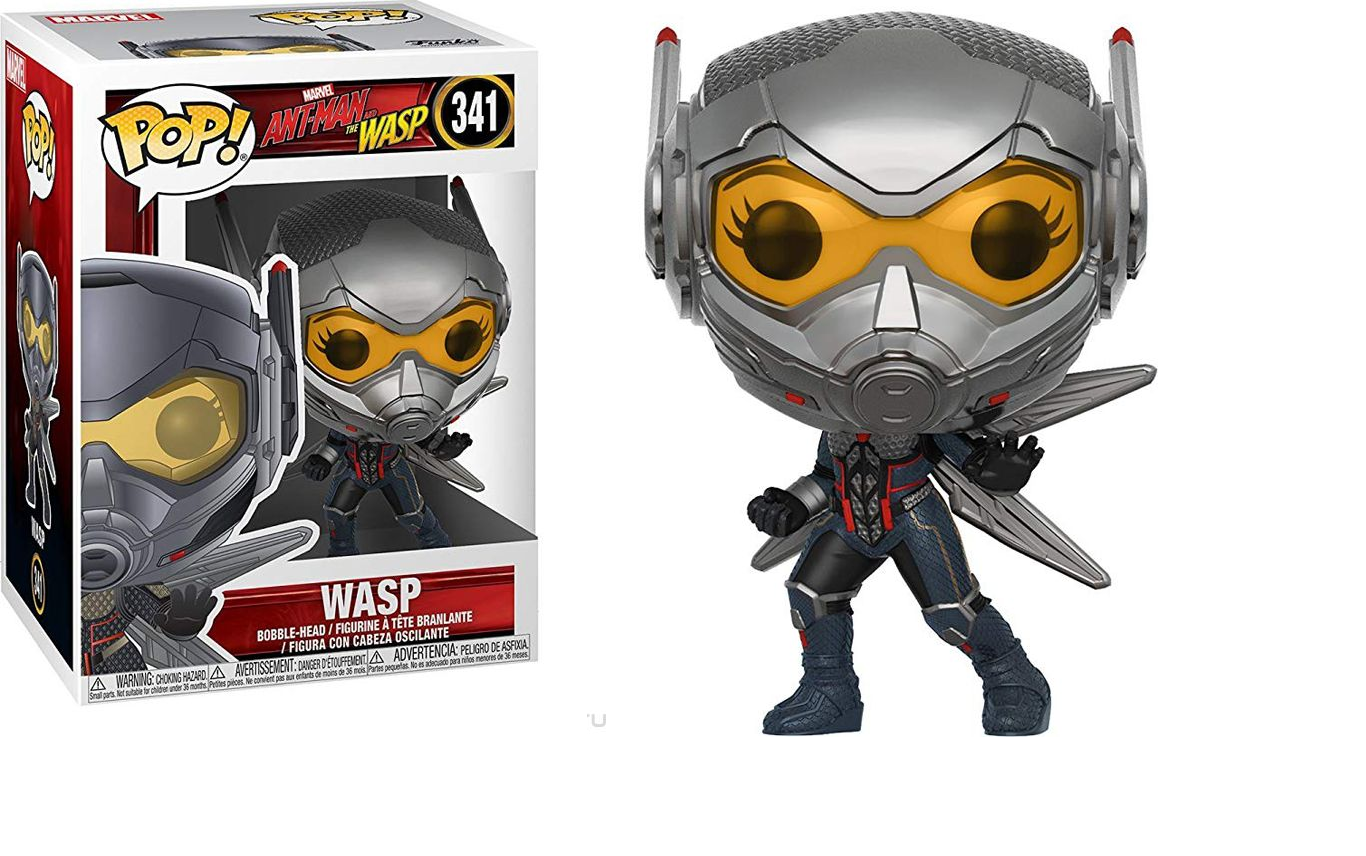 Фигурка Funko POP! Bobble: Marvel: Ant-Man  The Wasp: Wasp 30730