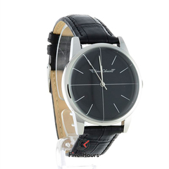 TIME CHAIN dalston leather black 70002/bk