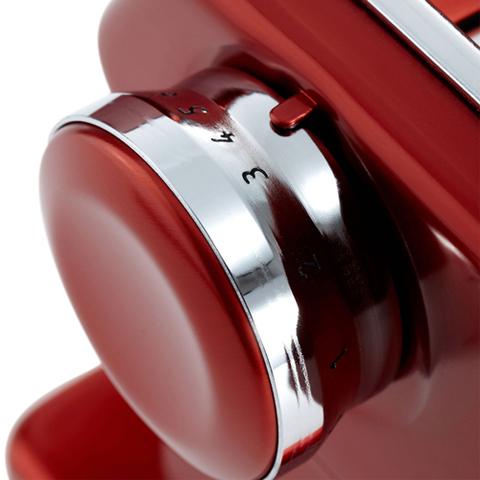 Тестораскаточная машинка-лапшерезка купить в интернет магазине с доставкой, красная Atlas 150, Италия, фото