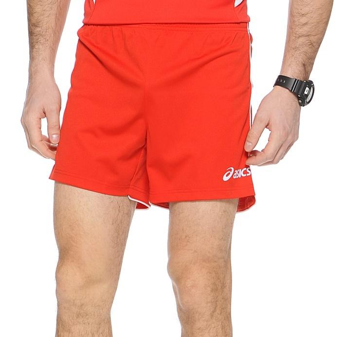 Мужские волейбольные шорты Asics Short Zona (T605Z1 0026) красные фото
